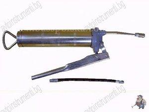 Ръчен такаламит за грес 400мл. с накрайници